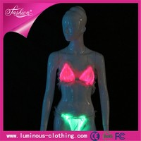 led lighting fiber optic beautiful women sex lingerie
