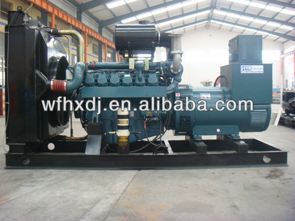 CE ISO good price 10-1875KVA diesel engine powered electricity generator for hot sales