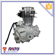Chinese RATO Air Cooled Single Cylinder 200cc Complete Motorcycle Engines for Sale