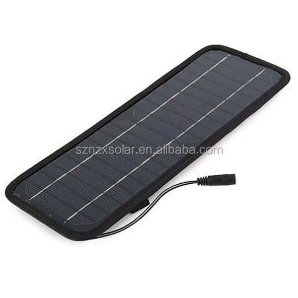 12V Solar Car Battery Charger 4.5W Portable Panel Camping Power