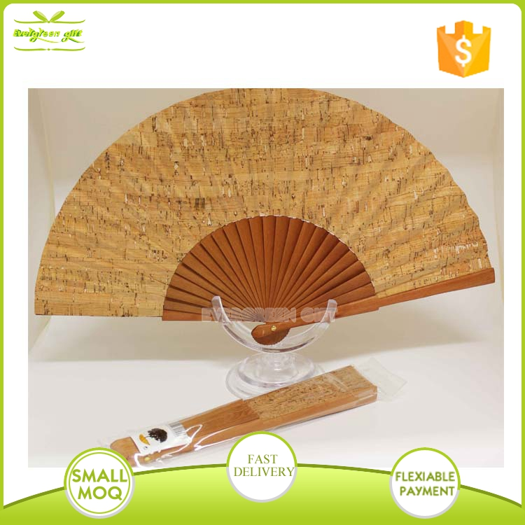 promotiona craft wooden hand fans