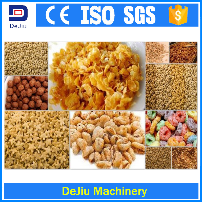 China Most popular corn flakes/Breakfast cereal making machine for sale