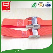 Durable cargo lashing strap , webbing belt with cam buckle