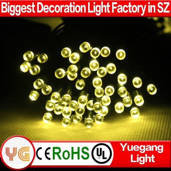 Outdoor use christmas decorations solar string light solar panel led string lights solar led lights for crafts