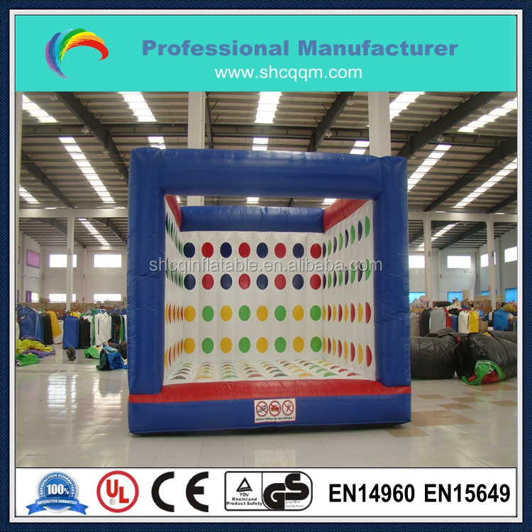 giant inflatable twister game,big family game,inflatable garden game