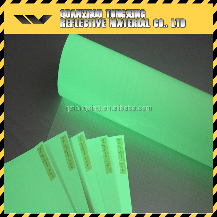 High Quality Reflective Material Night Glow Sticker Film