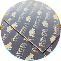 14mm joint finger film flywood for thailand market SUNNYPLEX