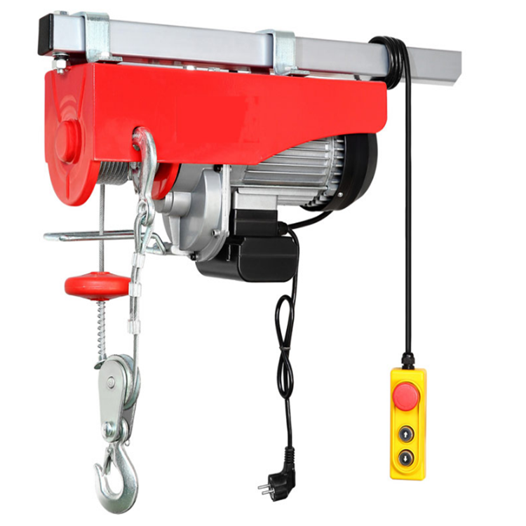 High quality full capacity small lift 200kg copper wire pa200 mini electric hoist