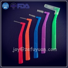Nylon Bristle PP Interdental Toothbrush
