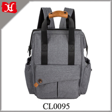 Best Selling Products Large Capacity Diaper Bag Backpack Dark Grey Mommy Backpack with Changing Pad