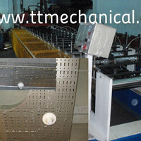 Cable Tray And Cover Rollforming Machine