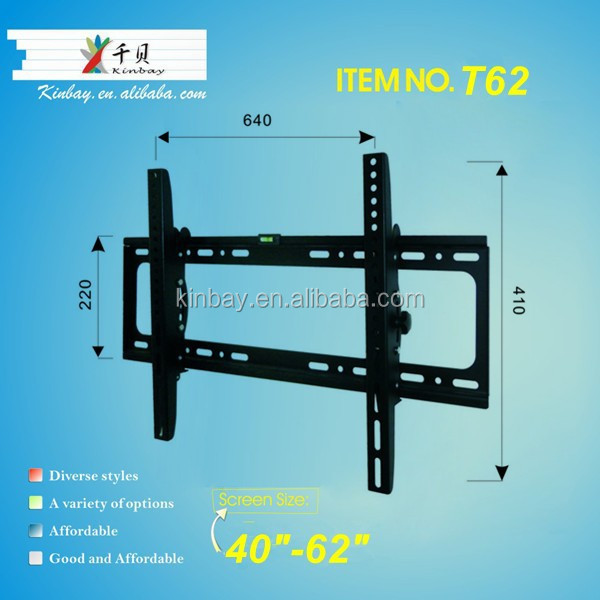 "Tilt receiver wall mount for 40""-62"""