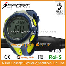 Newest Digital Pedometer Watches Black Men Wrist Watch Best Heart Rate Monitor Watch for Men