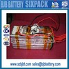 Rechargeable LiFePO4 48 volt lithium battery pack for electric vehicle Customized