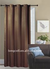 100% polyester Jacquard curtain new design window curtain