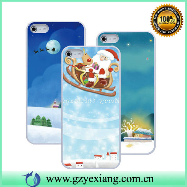 low moq chrimas gift custom imd case for iphone 4/4s/5/5s case