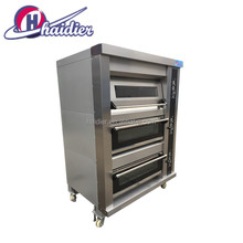 Industrial Pizza Bread Cookies Gas Portable Deck oven