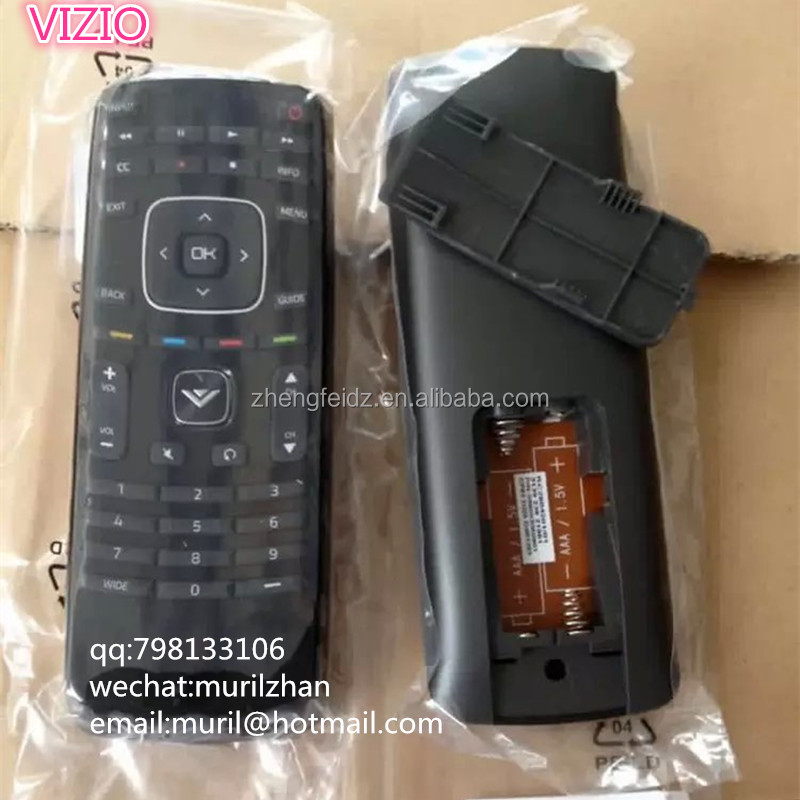 High Quality Black 42 Keys VIZIOO XRT112 Remote Control Rubber Cover for controls