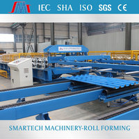 Shaoxing Smartech full automatic steel profile roll forming machine Equipment metal roof forming machine for Structural Steel