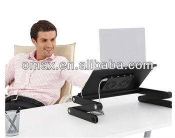 Flexible laptop desk