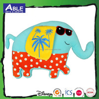 3d animal travel children colorful kids toy bed elephant pillow cushion, stuffed toys