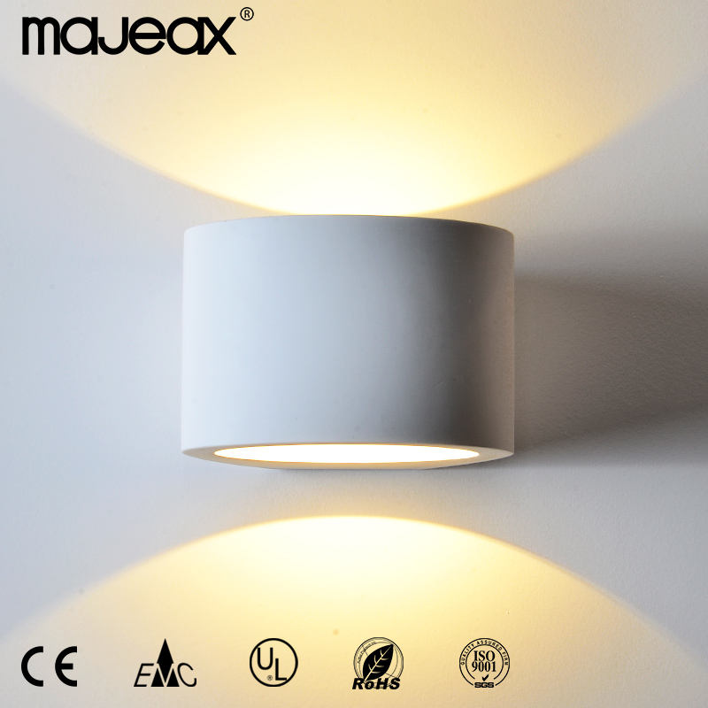 2015 Hot selling plaster residential led wall lamp