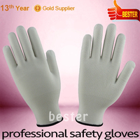 Cheap hot-sale latest knitted touch screen glove fabric