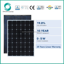 Best price mono silicon 260-280w export solar panel manufacturers in china