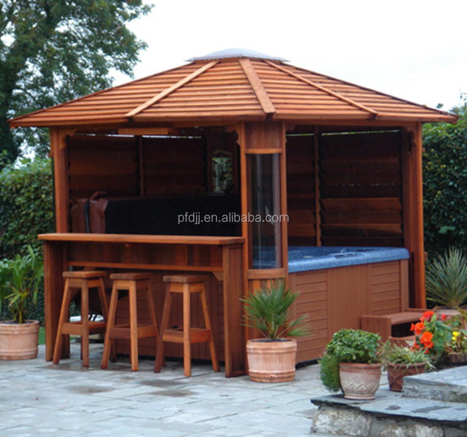 gazebo for outdoor tub