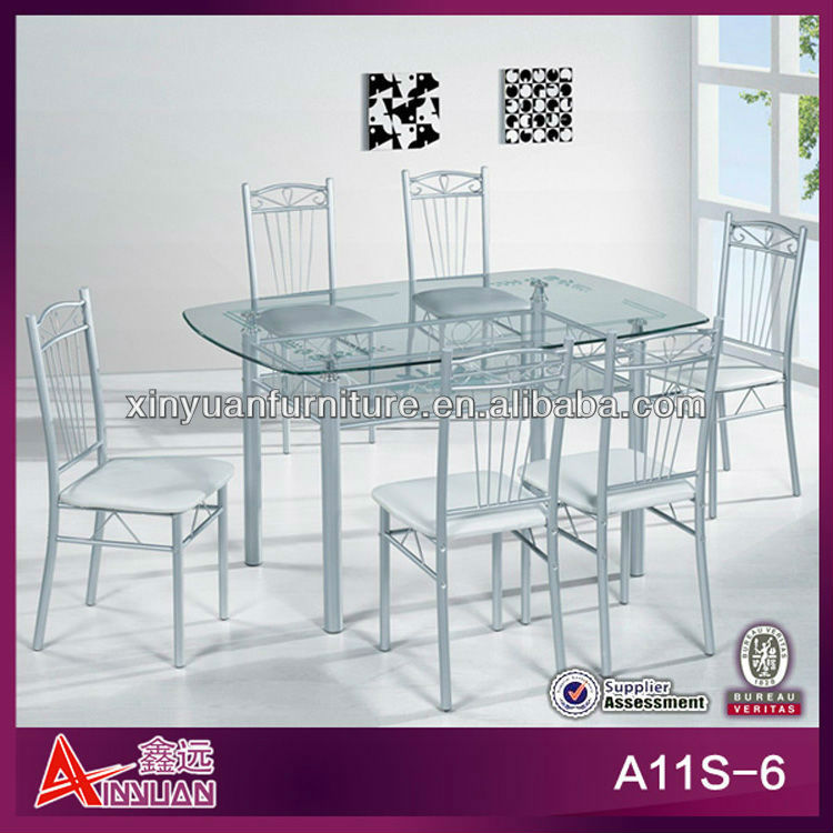 double layer wholesale dining table top glass restaurant