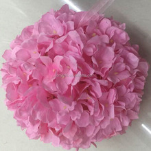 China factory hot sell decorative plastic artificial hanging flowers balls for wedding decor