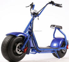 1000w 60v lithium battery city coco vintage electric scooter/retro/classic/e scooter/snow vehicle