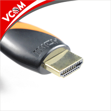 24K Gold Plated Connector High Speed 3D HDMI 1.4V Cable for Gaming Player