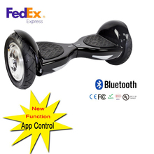 10 inch self balance scooter APP cellphone control hoverboard two wheel electric scooter
