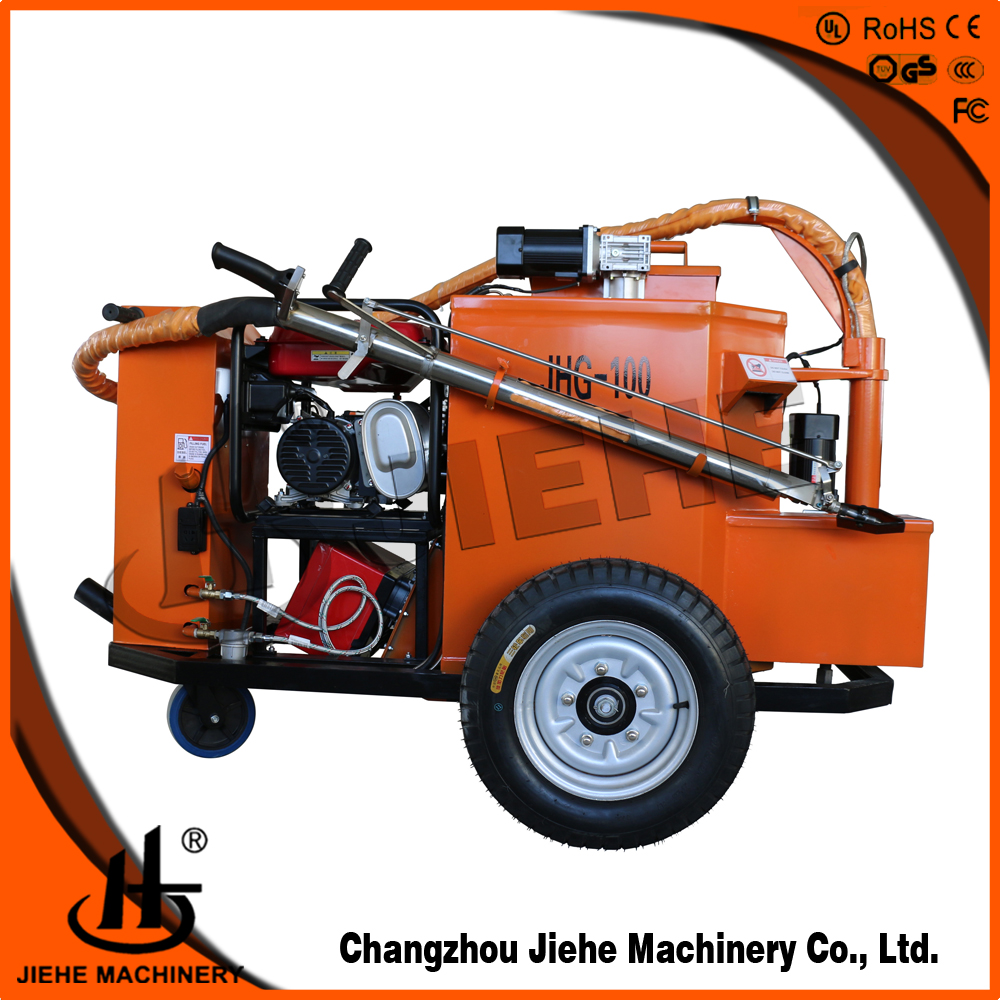 road sealing asphalt crack filling machine for small town repairs(JHG-100)