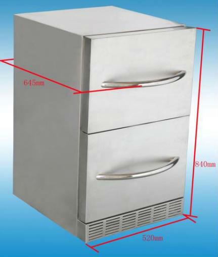 Undercounter Refrigerator or Freezer with ETL Certification, CFC-free