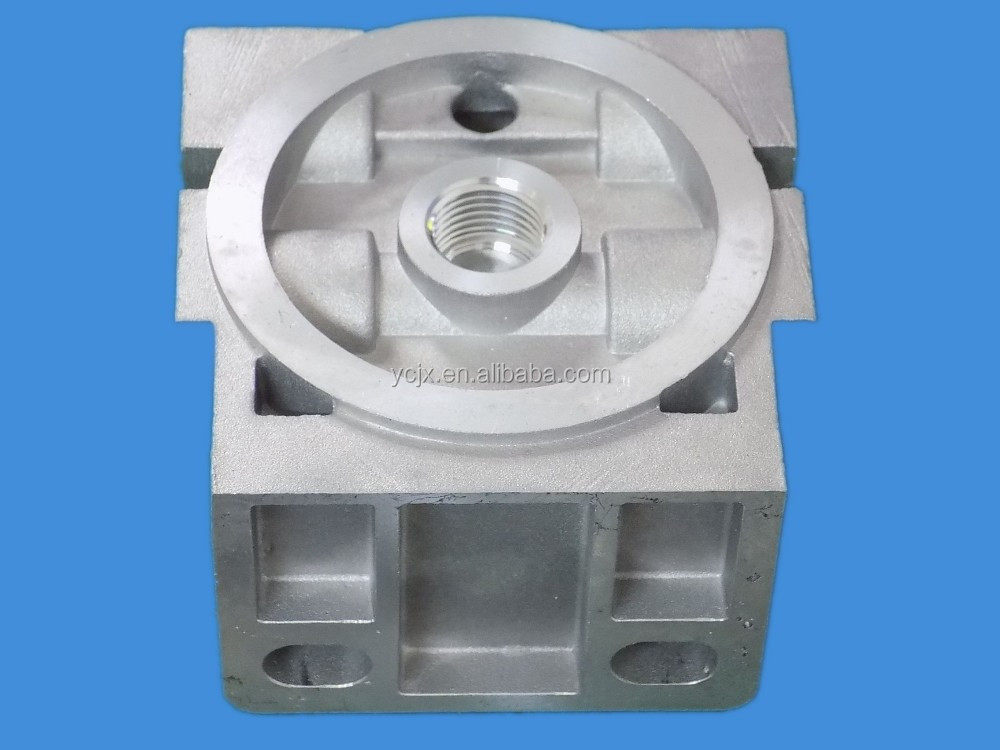 professional manufacturer of die casting aluminum filter parts with low price
