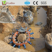break piles machinery hydraulic cylinder concrete cutter