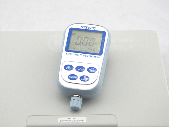 Water Resistivity Meter : Sx portable thermal electrical water conductivity meter