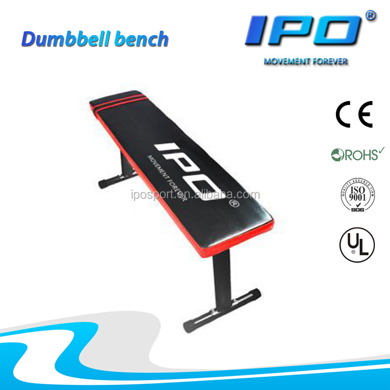New factory weight fitness flat exercise bench dumbbell bench