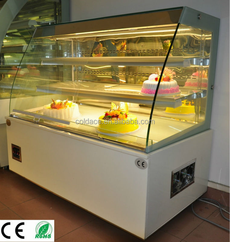 Backery open showcase for cake refrigerator CE