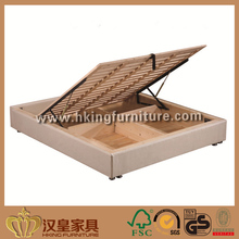 Hotel fabric bed frame, Cheap King Size Bed Frame, Knocked Down Bedbase