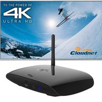 Cloudnetgo CR13 Quad core Miracast Rockchip Dongle RK3288 UHD 4K Android tv box 4.4 OS Mali-T764 with 2MP camera Smart Tv Box