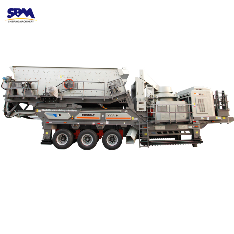 SBM quarry equipment 2018 new price for portable mobile stone crusher