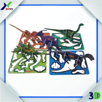 China Supplier High Quality Custom 3D Plastic Puzzle, Candy Promotion Small Toys