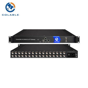 Low Price IP gateway (DVB-S/S2 to IP)