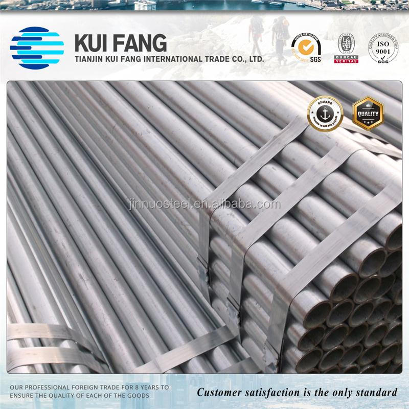 HS code carbon iron pipe 1.5 inch galvanized pipe