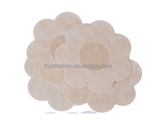 Breast Petals - Nipple Patches - No Show Nipple Covers - Adhesive Nipple Covers - Flower, Circle, Heart Shape (Flower)