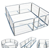 Heavy Duty Metal Play Pen Kennel Barrier Pet Dog Cat Fence