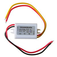 Hot Sale High Quality Waterproof DC Power Converter 12V Step Down to 5V 3A 15W Power Supply Module